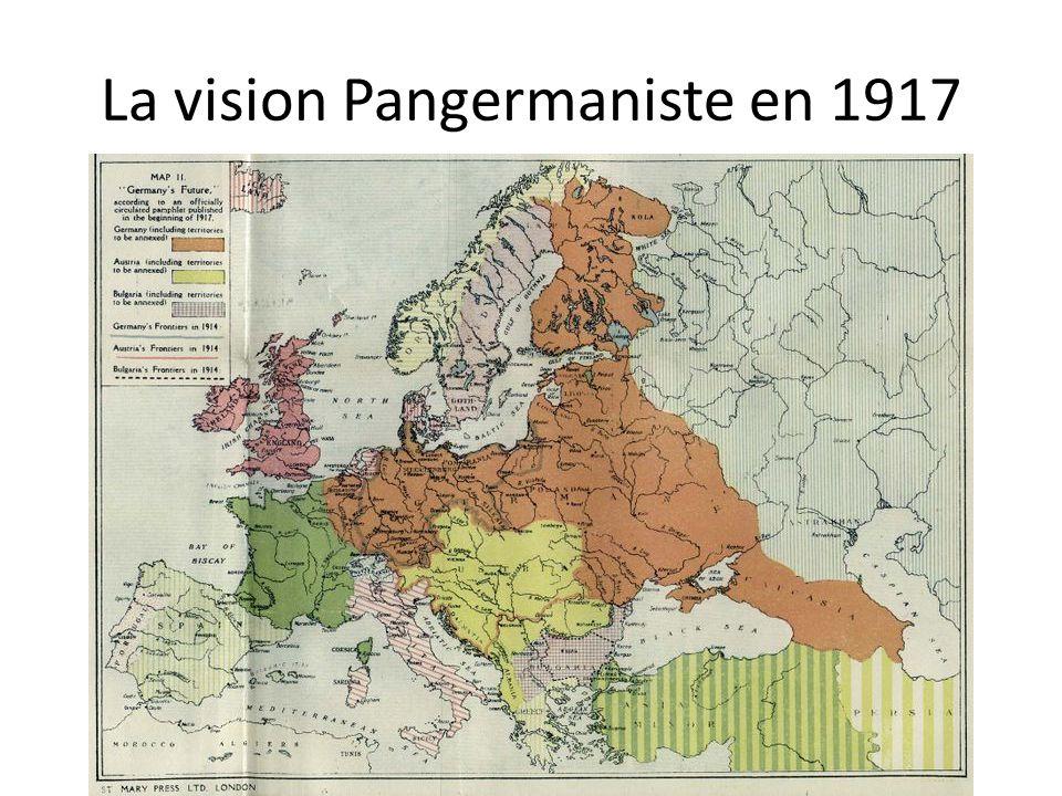 La vision Pangermaniste en 1917