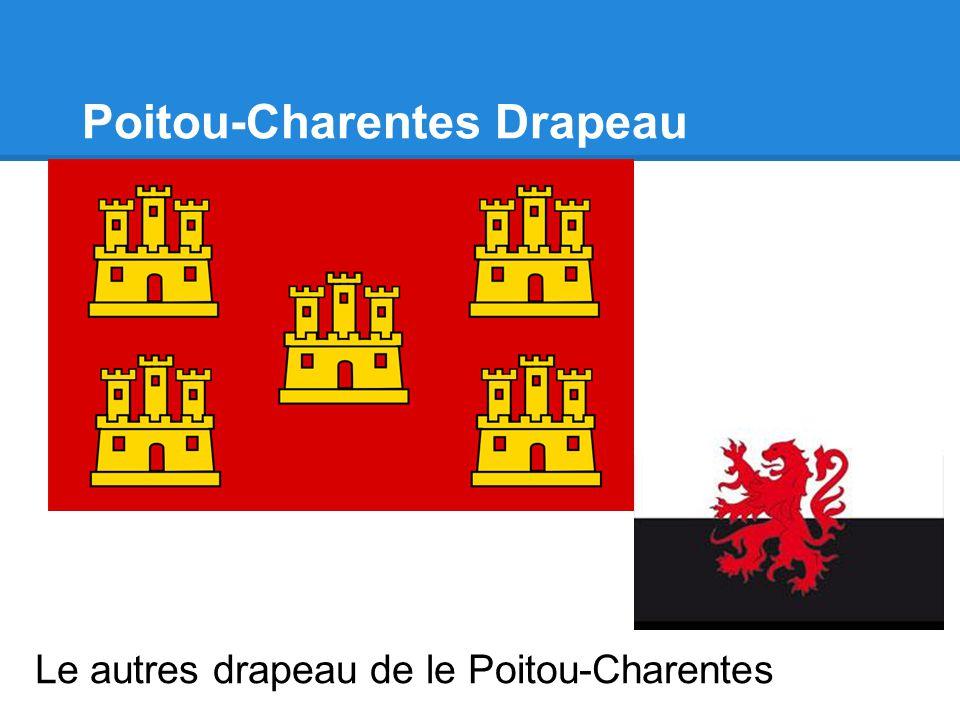 Poitou-Charentes Drapeau Le autres drapeau de le Poitou-Charentes