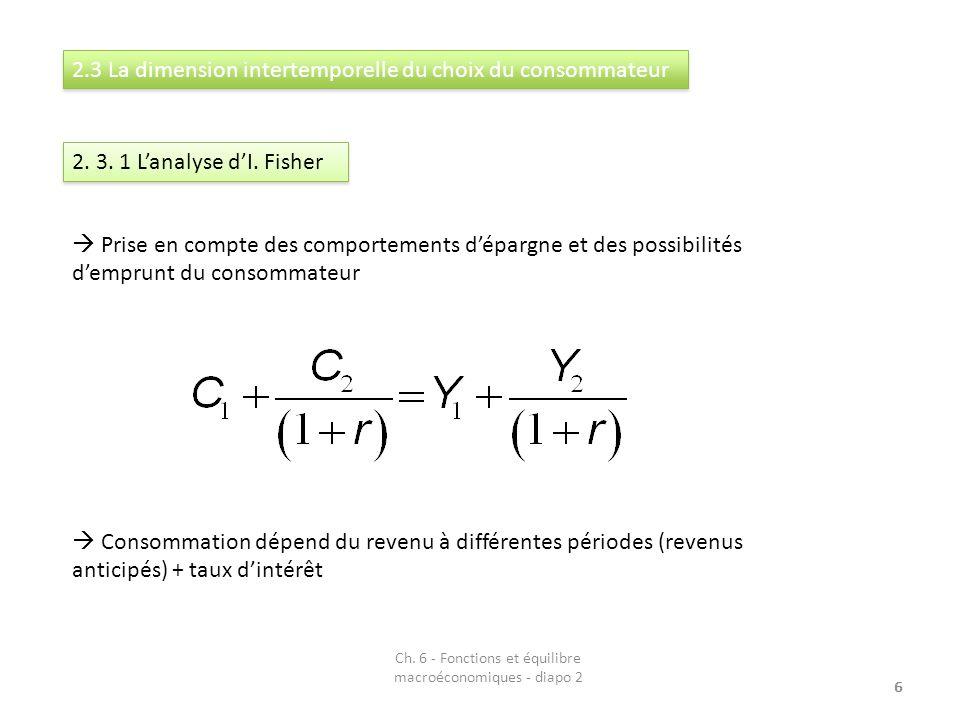 7 2.3. 2 La théorie du cycle de vie Première formulation par F.