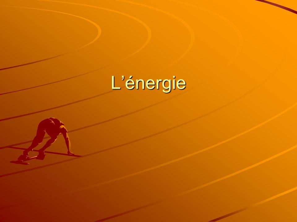 Fait intéressant Puisque les particules bougent même dans les substances très froides, ces substances ont de lénergie thermique.