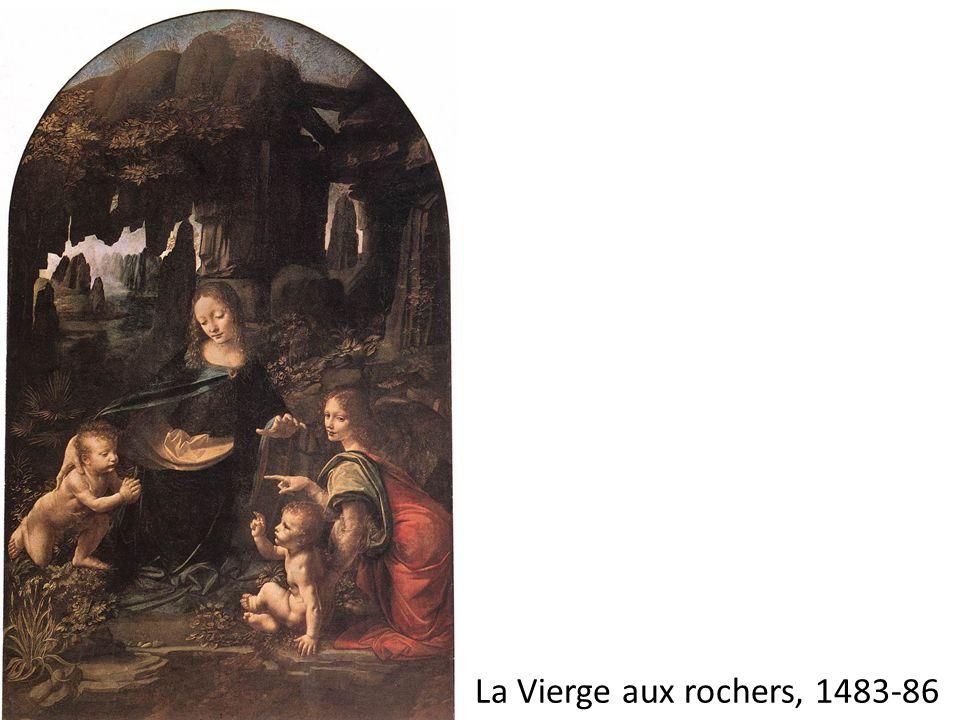 La Vierge aux rochers, 1483-86