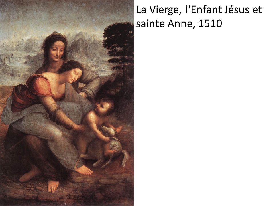 La Vierge, l'Enfant Jésus et sainte Anne, 1510