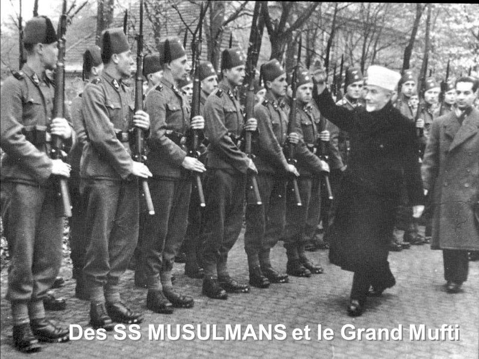 Des SS MUSULMANS et le Grand Mufti