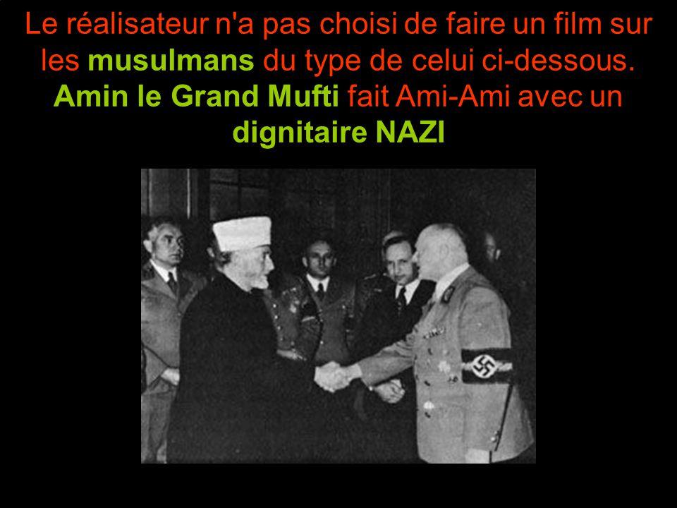 Amin le Grand Mufti fait Ami-Ami avec le SS HIMMLER
