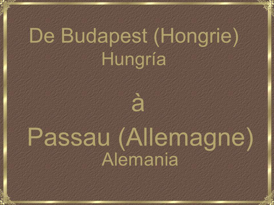 Juillet 2009 Armateur : CroisiEurope Strasbourg Croisière sur le Danube Crucero por el Danubio A vos clics
