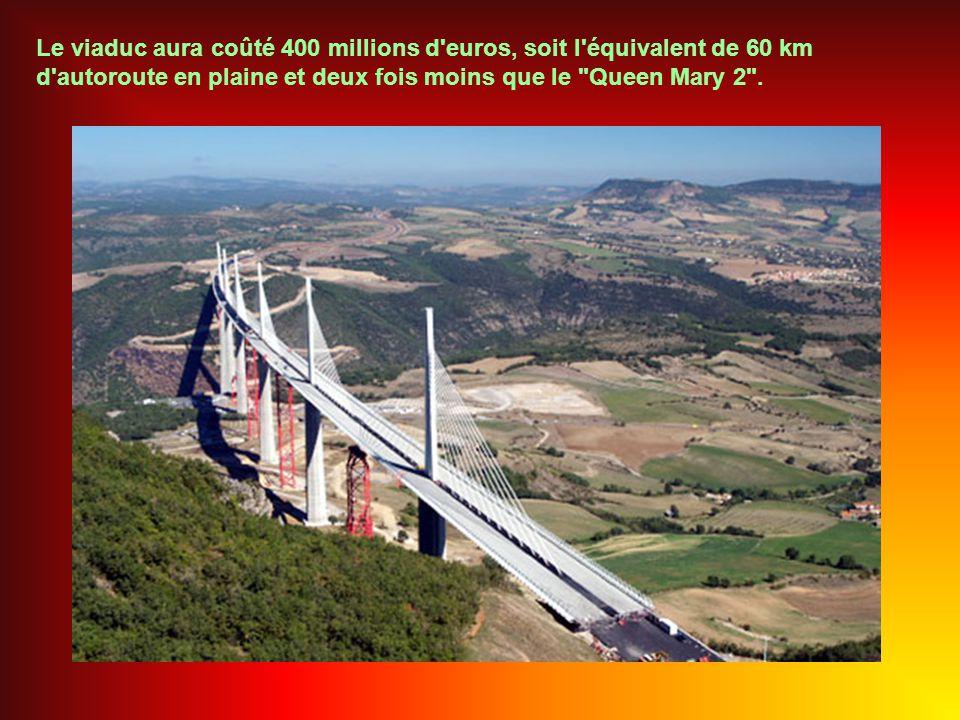 Le viaduc est prévu pour fonctionner au moins 120 ans.