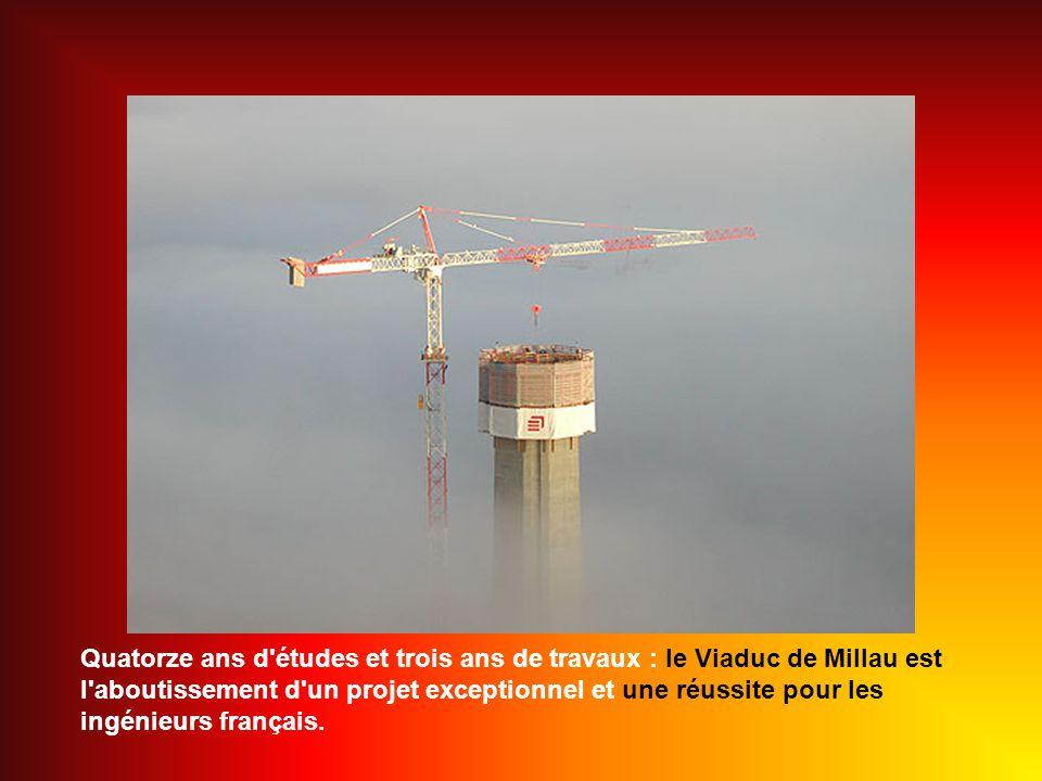 Sarah Brightman - Deliver me Le Viaduc en chiffres Longueur : 2460 mètres Hauteur totale au sommet des pylônes : 343 mètres.