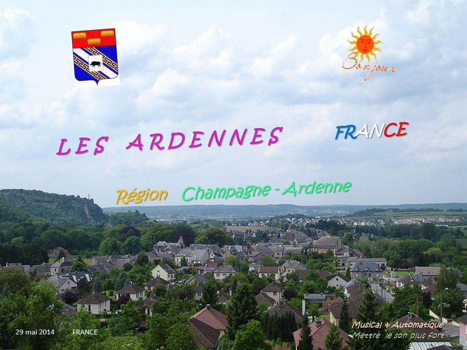Revin quartier de La Bouverie et panorama