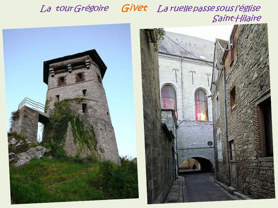 Givet fort de Charlemont,. léglise Sainte-Hilaire