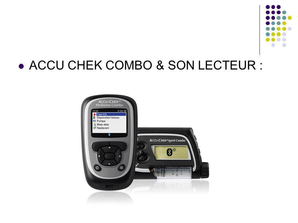 ACCU CHEK COMBO & SON LECTEUR :