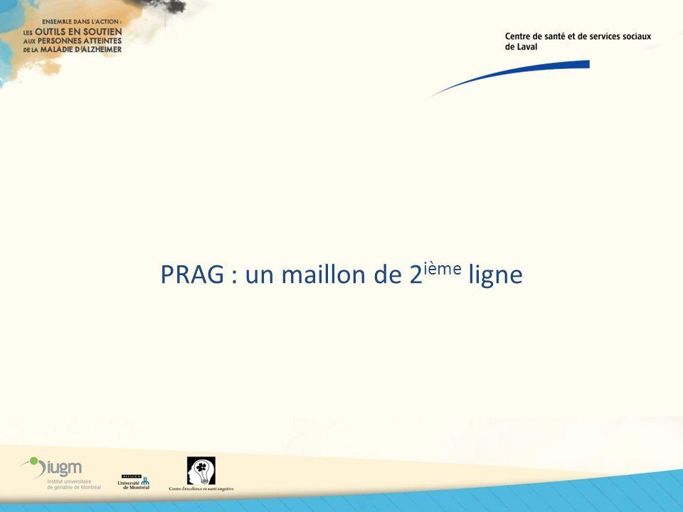 PRAG : un maillon de 2 ième ligne
