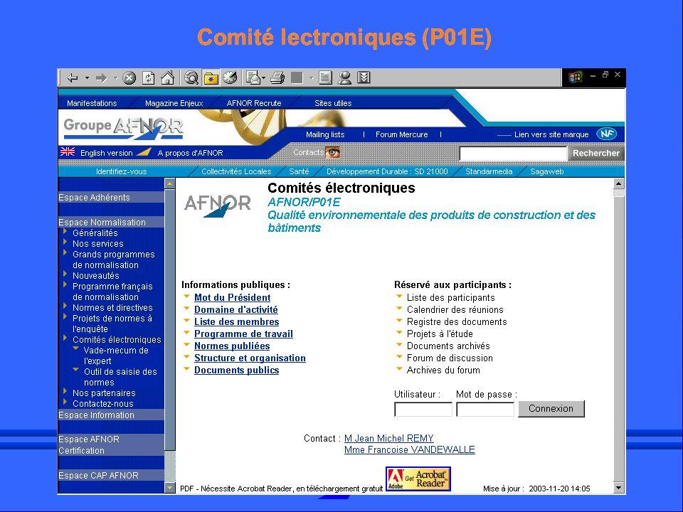 3ème Assises HQE 20031 Comité lectroniques (P01E)