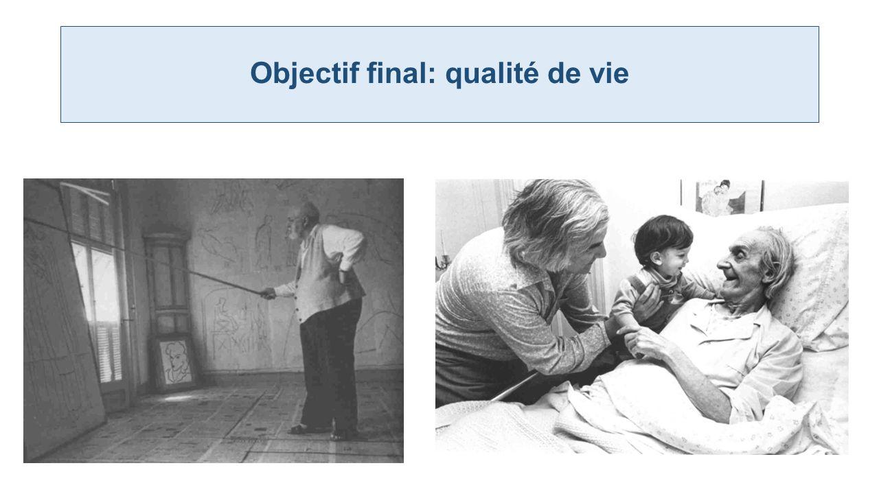 Objectif final: qualité de vie