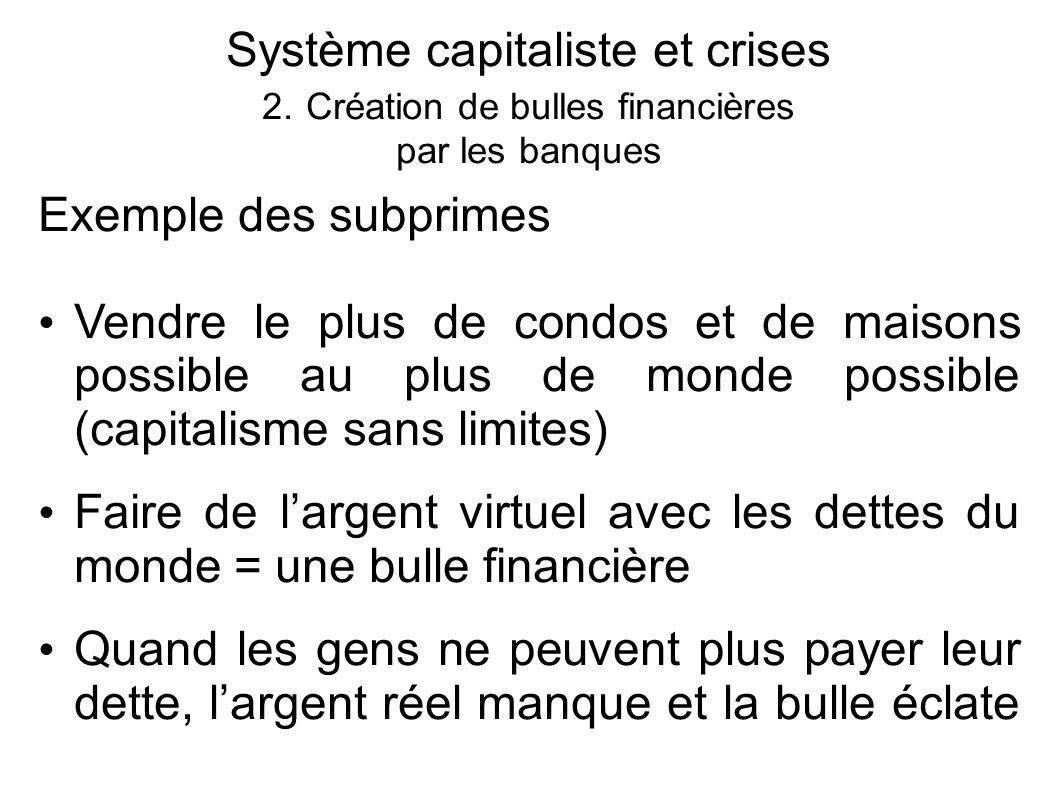 Système capitaliste et crises 2.