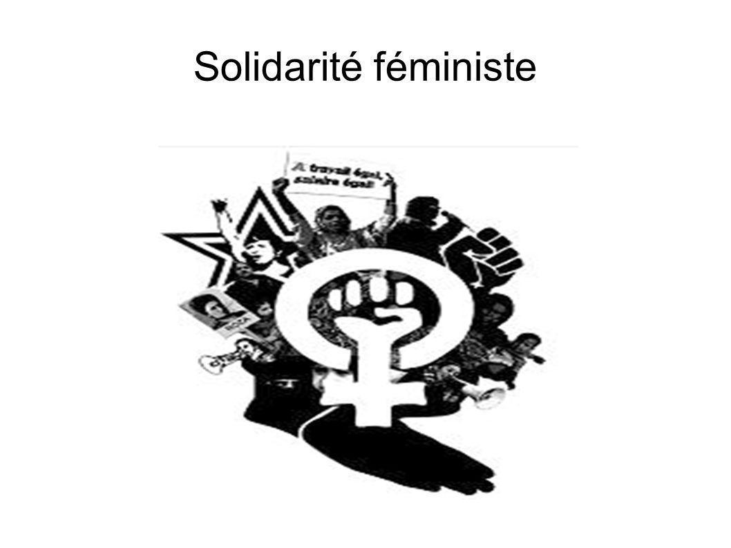 Solidarité féministe