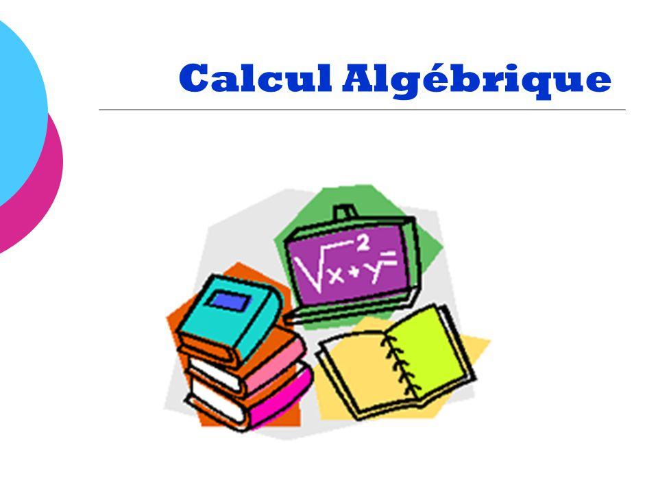 Trinôme Expression algébrique qui comporte trois termes Exemple : 2x + 6y 9