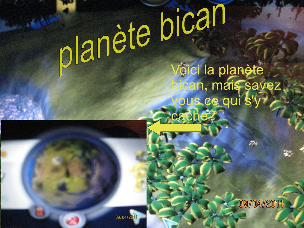 Voici la planète bican, mais savez vous ce qui s'y cache?
