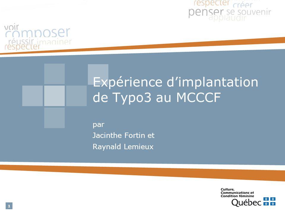 2 Plan de la présentation Contexte Questionnements Démarche de sélection Implantation et utilisation du logiciel Bilan Conclusion