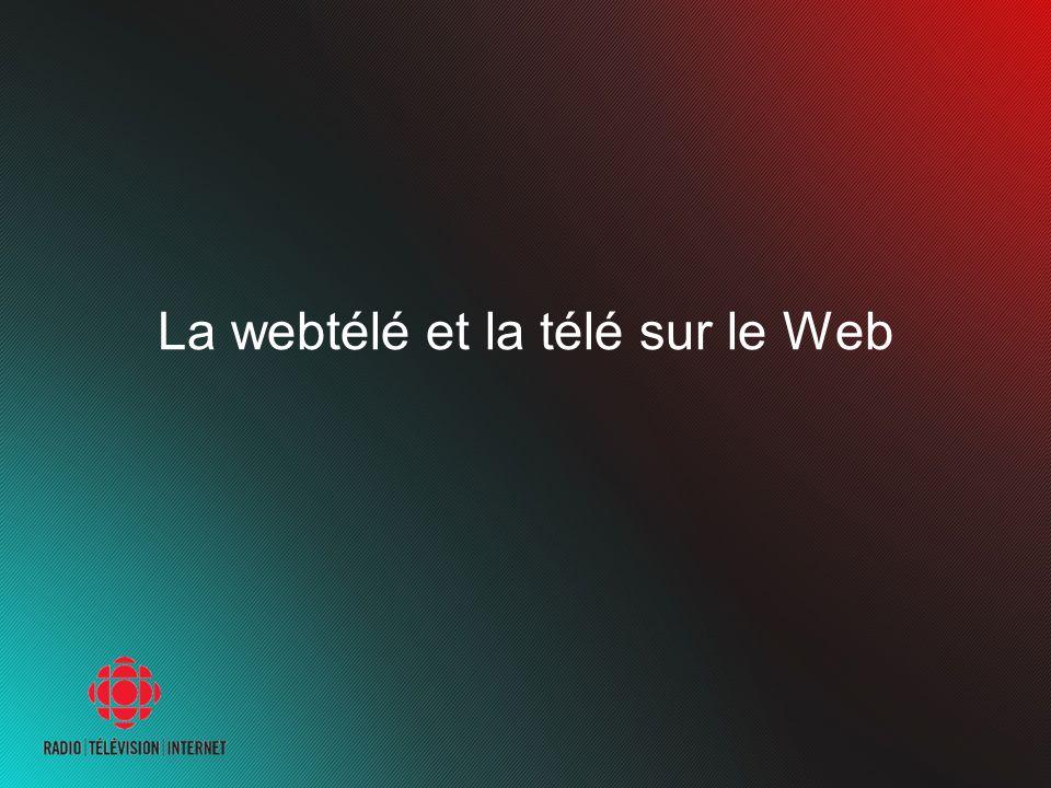La webtélé et la télé sur le Web