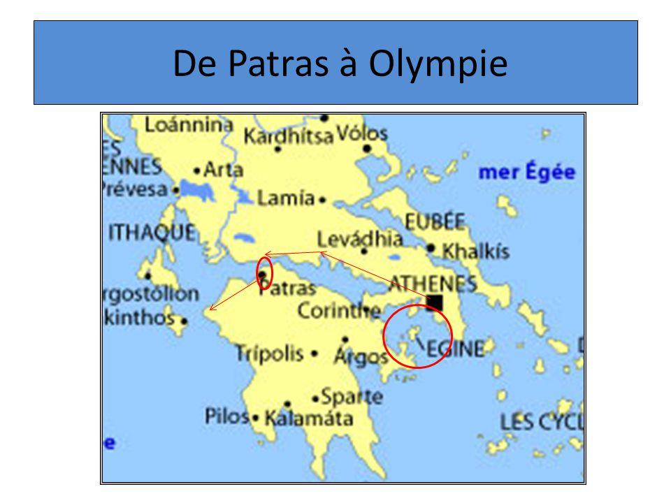De Patras à Olympie