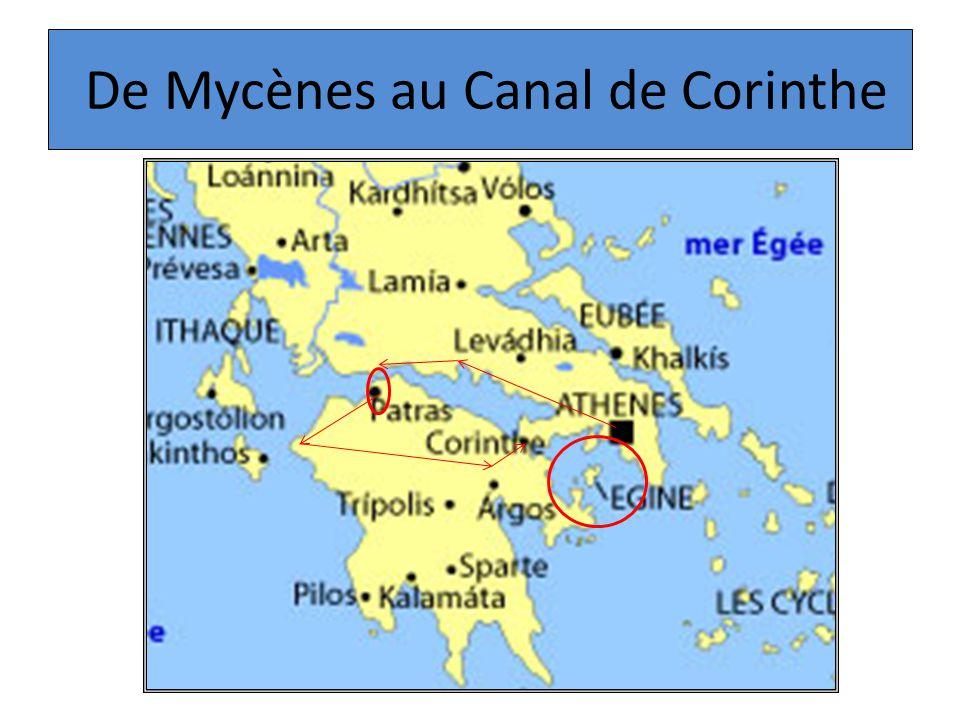 De Mycènes au Canal de Corinthe