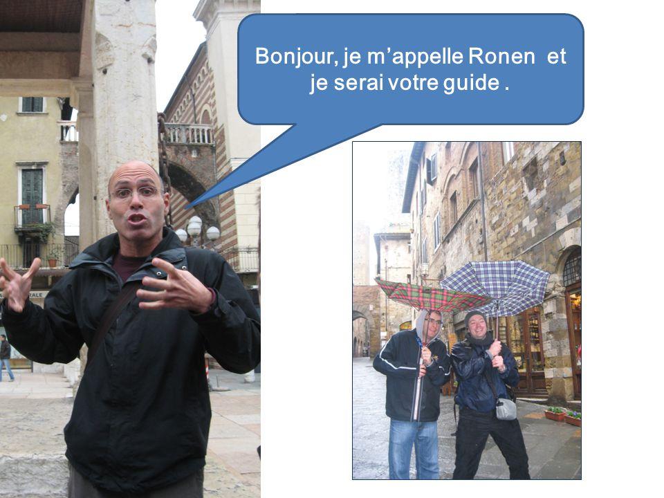 Bonjour, je mappelle Ronen et je serai votre guide.