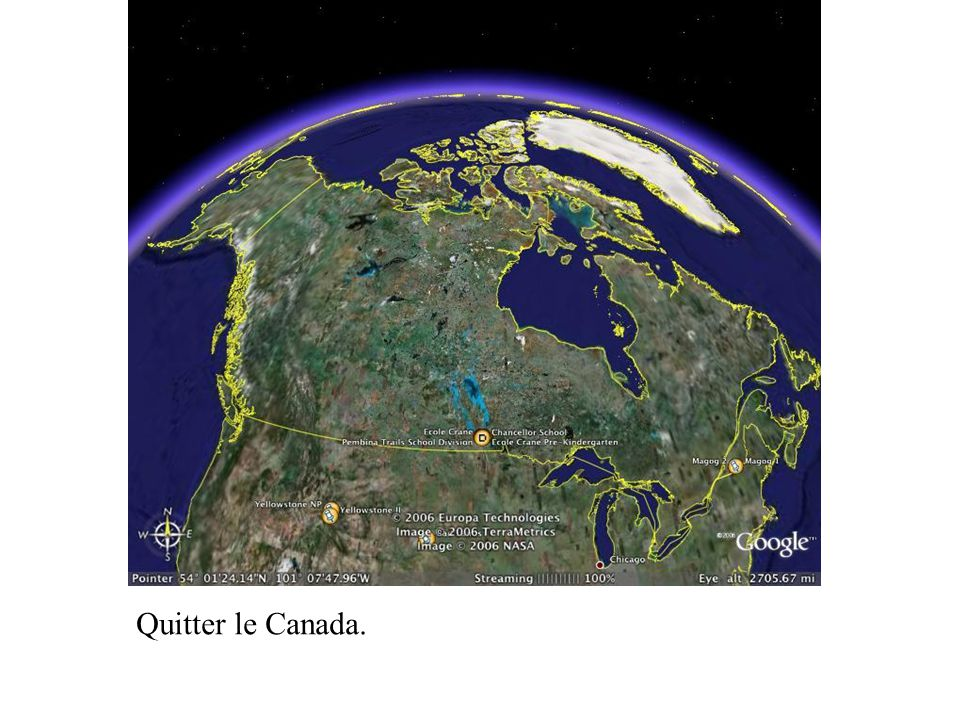 Quitter le Canada.