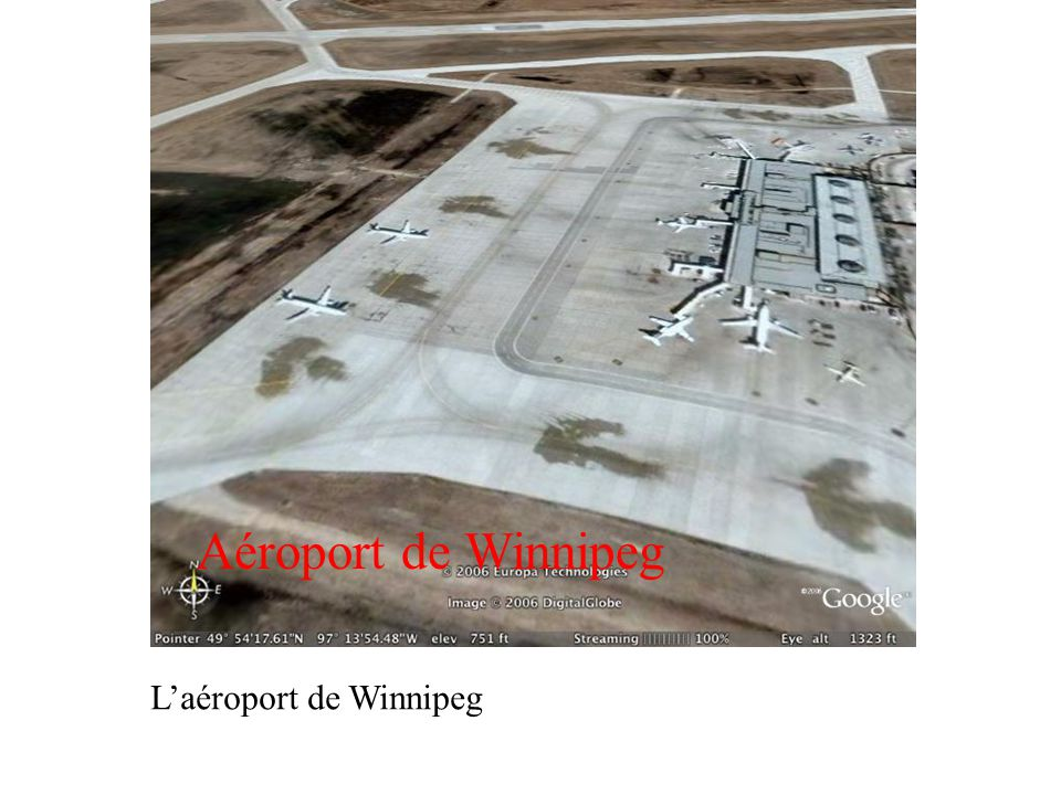 Laéroport de Winnipeg Aéroport de Winnipeg