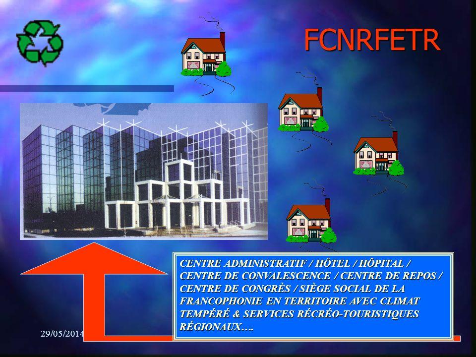 29/05/2014Régis Lapierre25 CENTRE ADMINISTRATIF / HÔTEL / HÔPITAL / CENTRE DE CONVALESCENCE / CENTRE DE REPOS / CENTRE DE CONGRÈS / SIÈGE SOCIAL DE LA FRANCOPHONIE EN TERRITOIRE AVEC CLIMAT TEMPÉRÉ & SERVICES RÉCRÉO-TOURISTIQUES RÉGIONAUX….