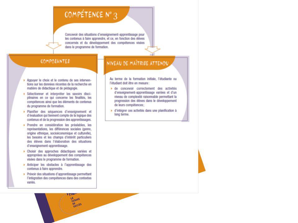 Prise dinformation et interprétation Outils dévaluation SAÉ (Situation dApprentissage et dÉvaluation) Grille dobservation QAFE Qualité Autonomie Fréquence Efficacité