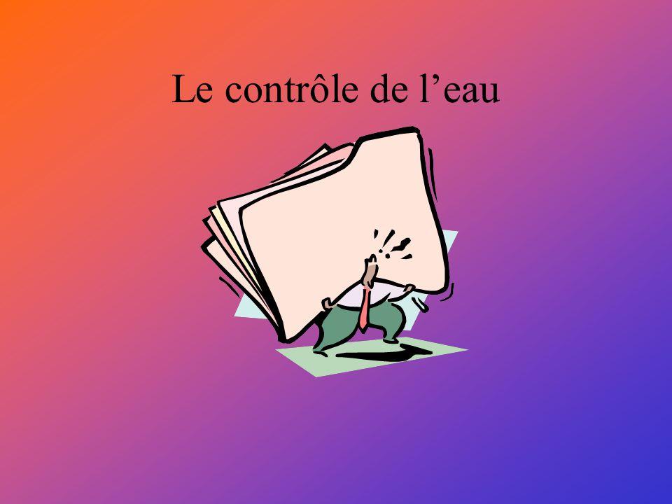 Le contrôle de leau
