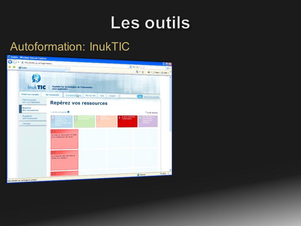 Autoformation: InukTIC