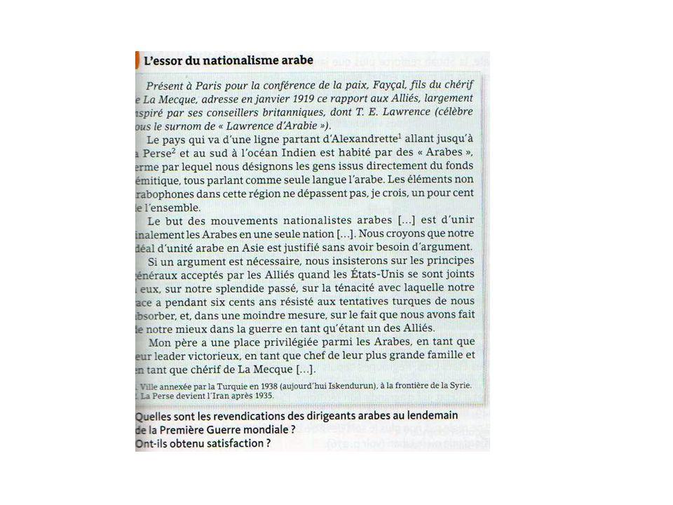 ETUDE DE CAS : LA QUESTION LIBANAISE ET SES REPERCUTIONS INTERNATIONALES