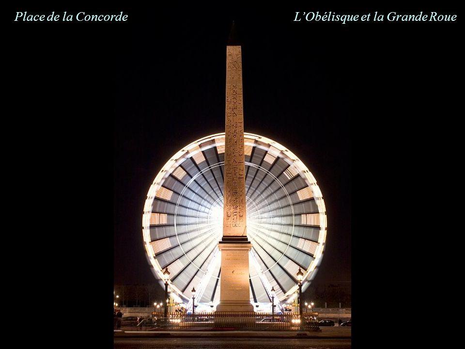 Place de la Concorde LObélisque et la Grande Roue