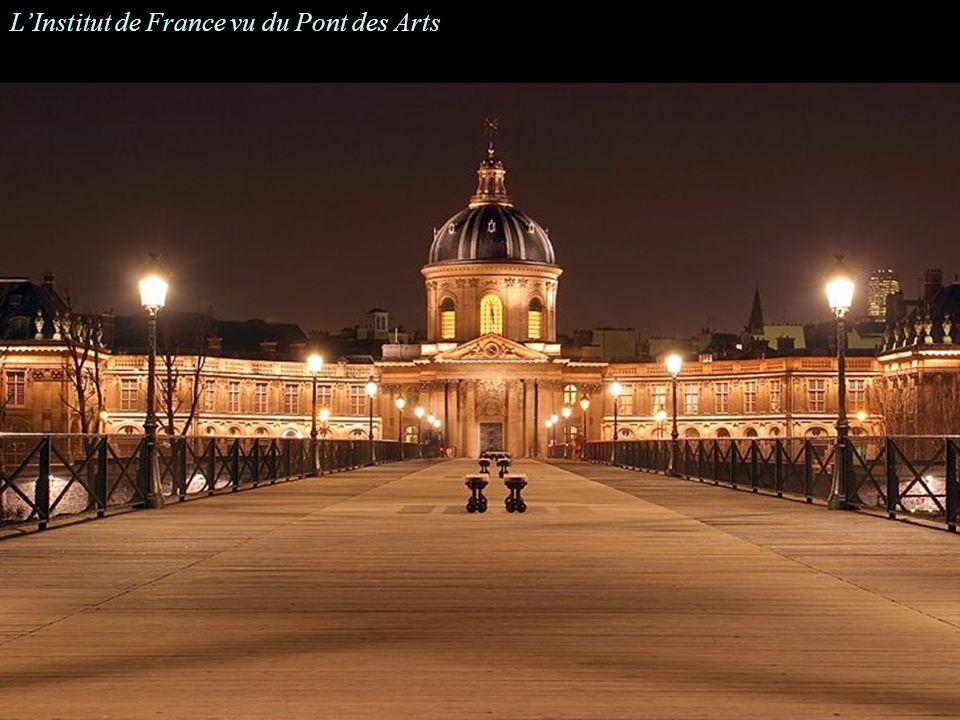 LInstitut de France vu du Pont des Arts