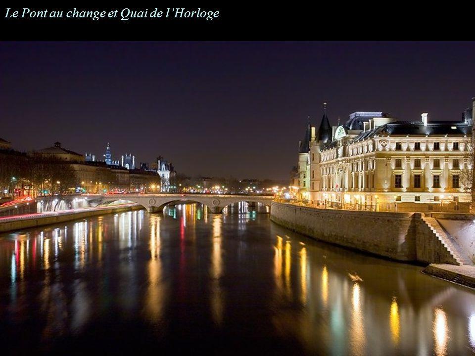 Le Pont au change et Quai de lHorloge