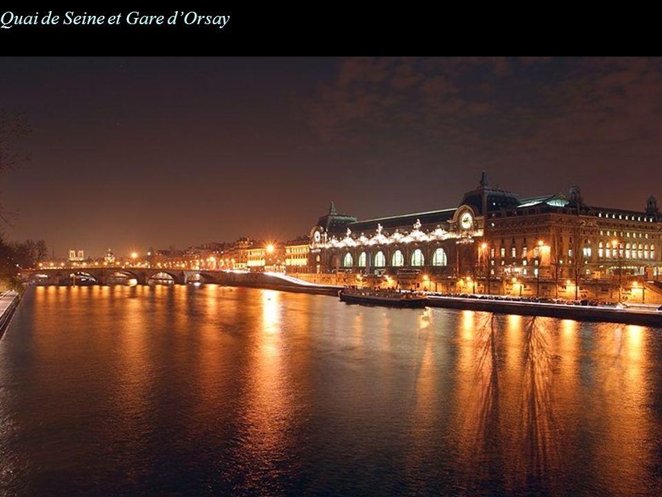 Quai de Seine et Gare dOrsay