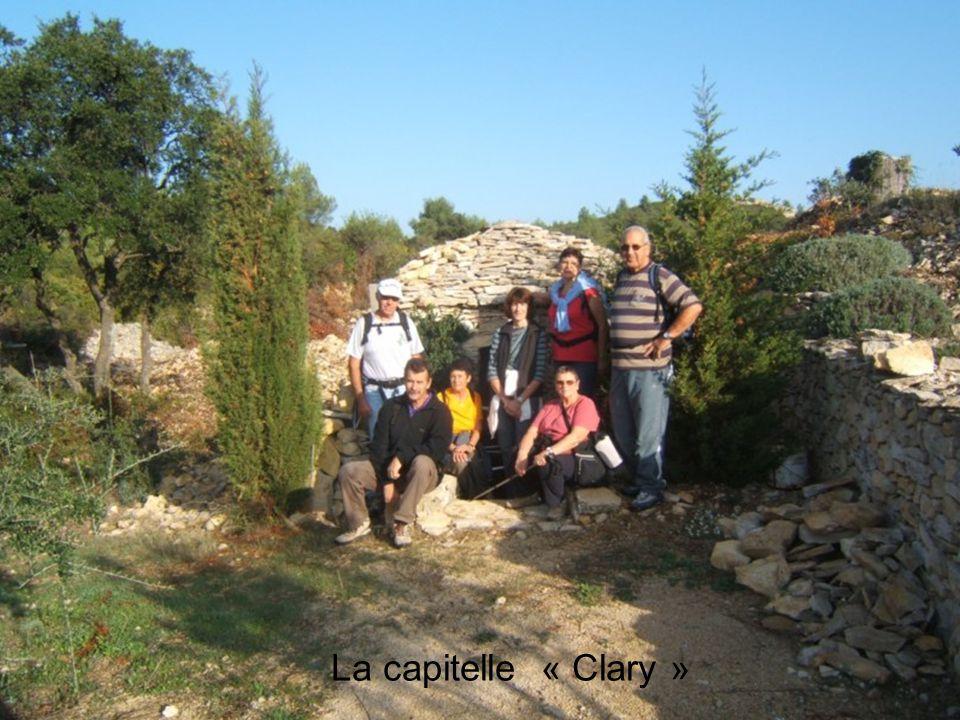 Une Capitelle est une ancienne cabane construite en pierre sèche sans mortier dans la garrigue des villes du Gard