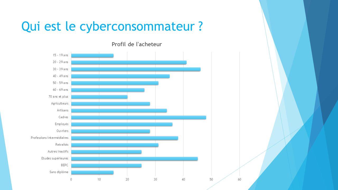 Qui est le cyberconsommateur ?