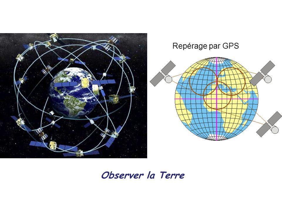 Observer la Terre Repérage par GPS