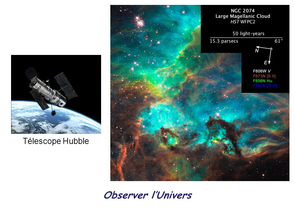 Observer lUnivers Télescope Hubble