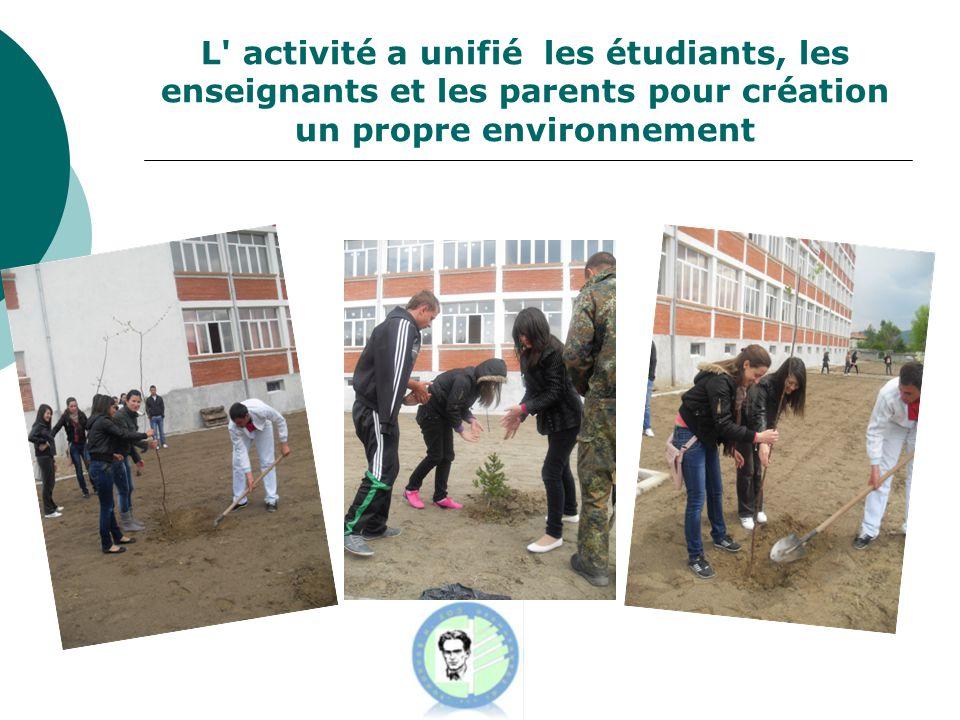 «Les déchets peuvent être utile!» Nos petits élèves de 1 à 4 classe ont fait une éco-exposition et l éco-concours à partir de déchets.