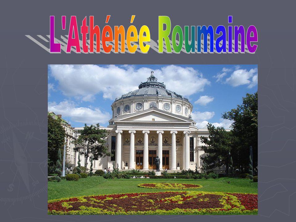 Istoria Ateneului Roman L édifice a été construit par le Français Albert Galleron et a été inauguré le 26 février 1988.