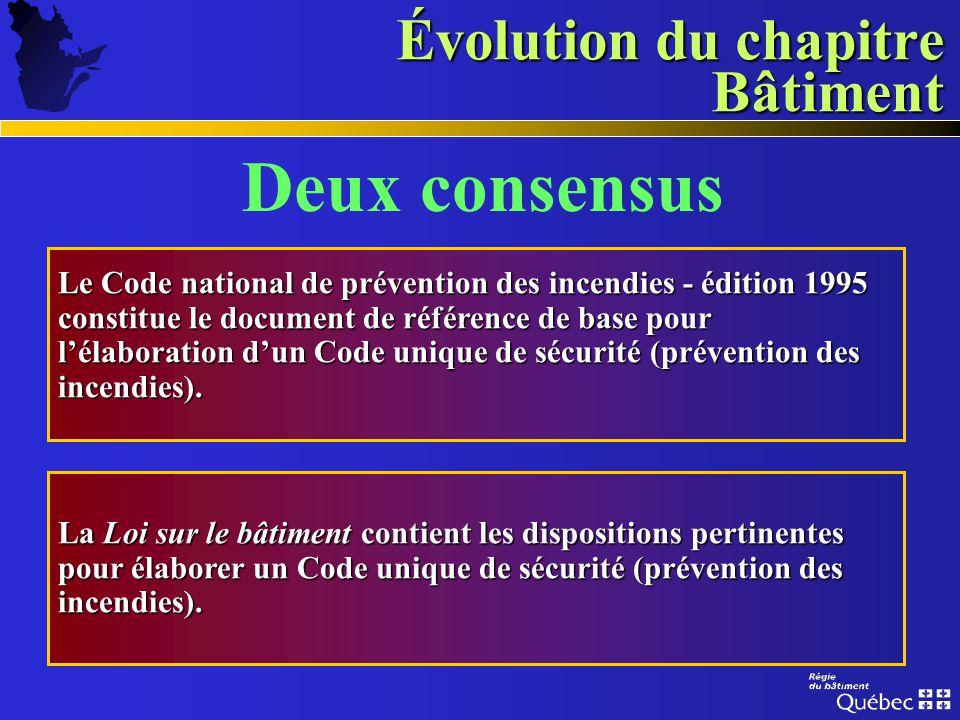 Évolution du chapitre Bâtiment Formation dun groupe de travail : Commission de la santé et de la sécurité du travailCommission de la santé et de la sé