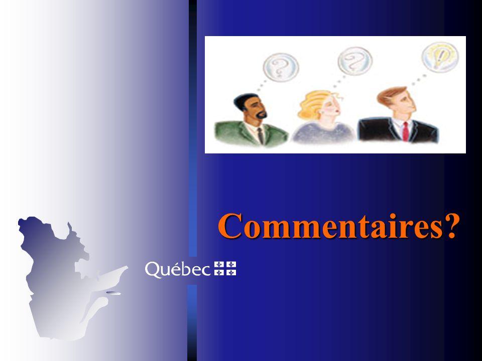 Prochaines étapes Transmission au Conseil dadministration de la Régie Demande davis au Comité consultatif Adoption par le Conseil dadministration de l