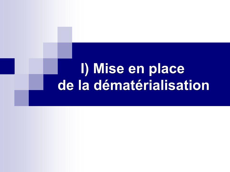 A) Outils mis en place pour la dématérialisation 1) Les juridictions de l ordre administratif a)E-sagace Service en ligne permettant d avoir accès aux caractéristiques de l affaire et aux évènements de procédure liés au déroulement de l instruction.