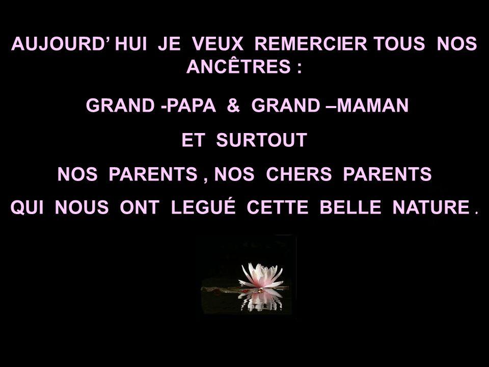 L AMOUR DES PARENTS IGNORE LE TEMPS, LA DISTANCE ET LES ABSENCES !