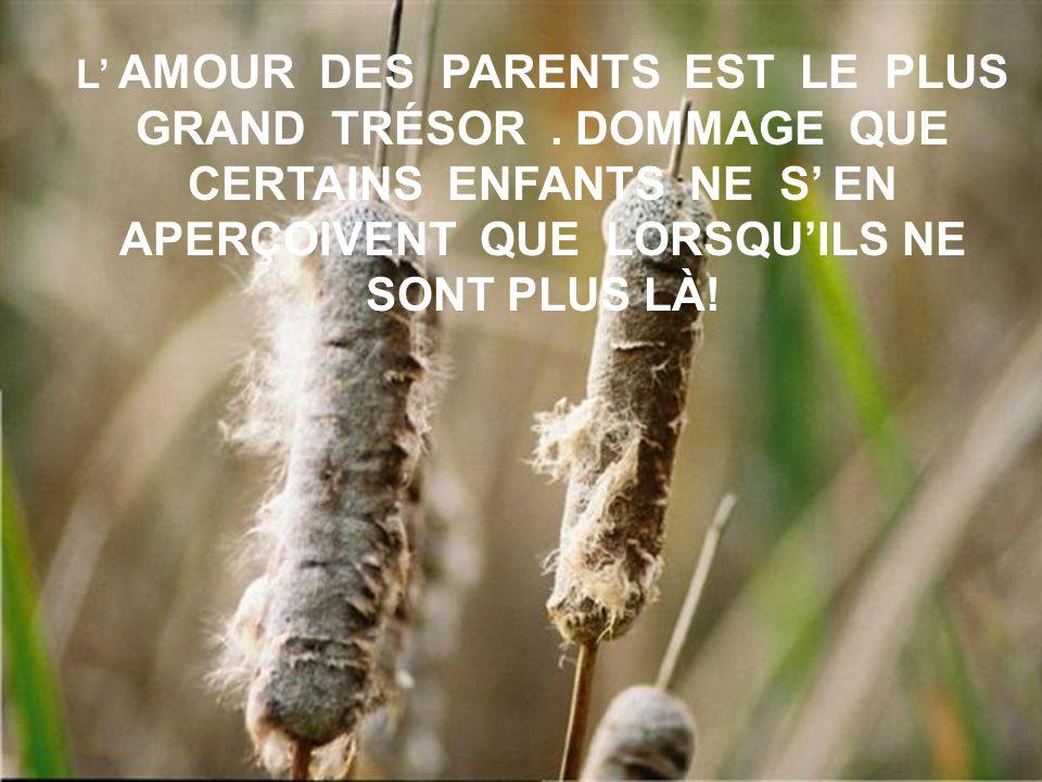 LAISSE LE DERNIER MOT À TES PARENTS ILS ONT BIEN MÉRITÉ CE PRIVILÈGE !
