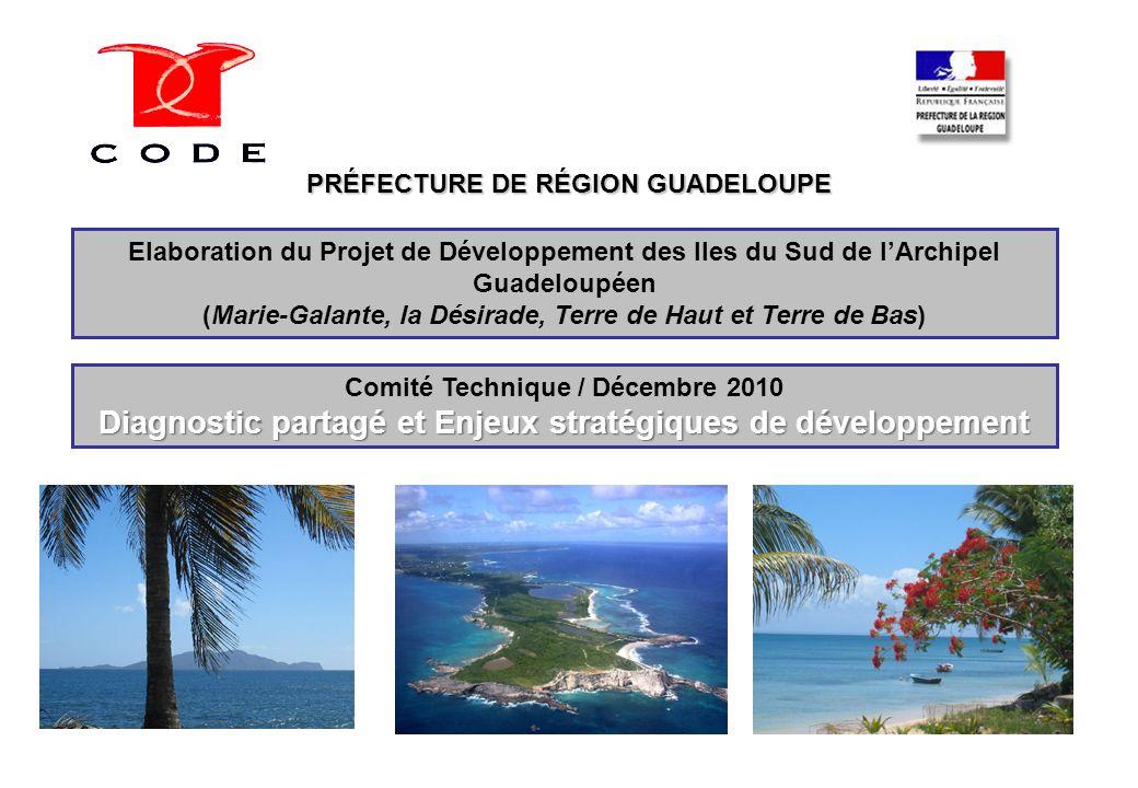 Îles du Sud COTECH n°1 Décembre 2010 2 2 1) Eléments de diagnostic partagé