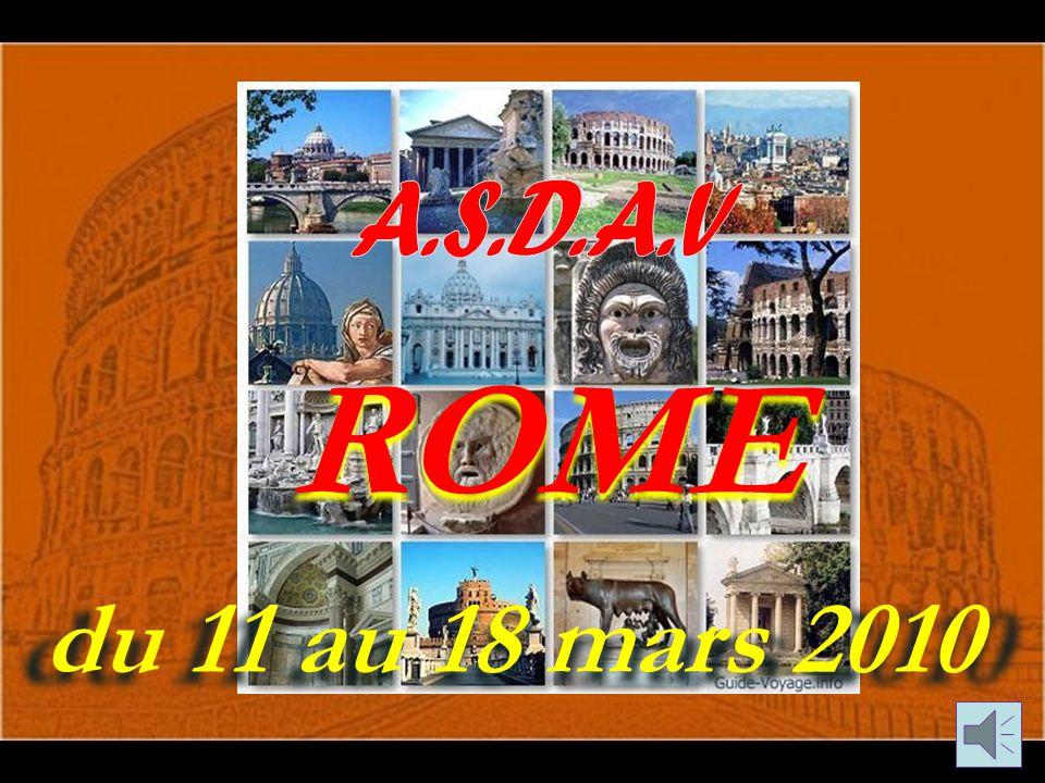 du 11 au 18 mars 2010 ROME